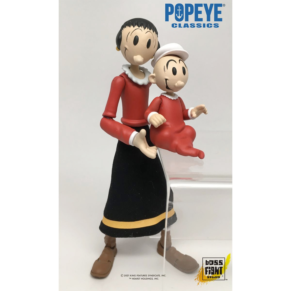 Popeye Classics 1:12 Scale Wave 1 Action Figures