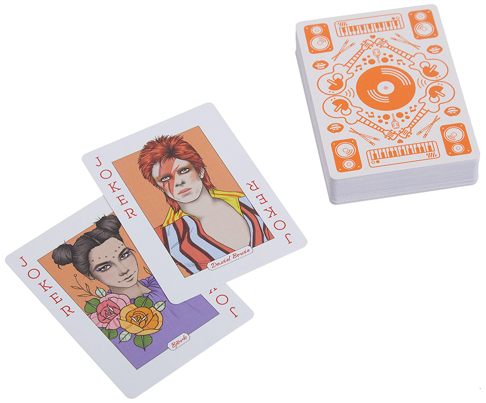 Music Genious Playing Cards