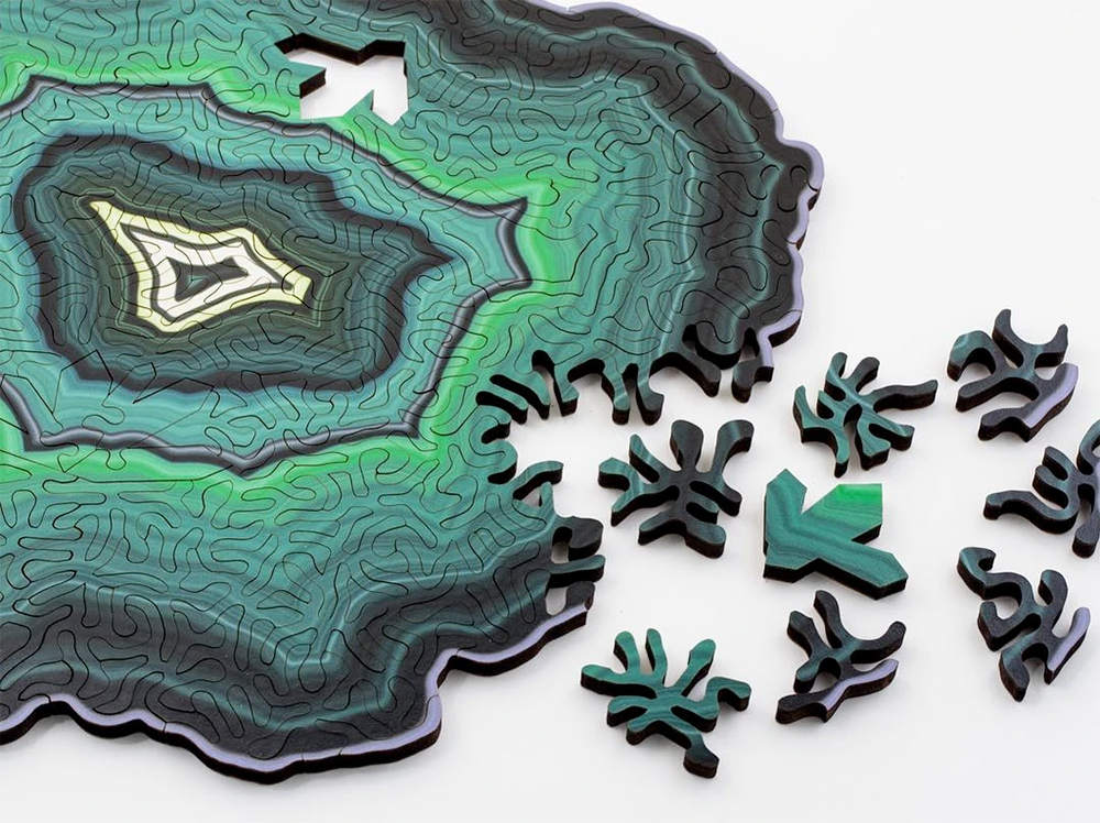 Large Geode Jigsaw Puzzles