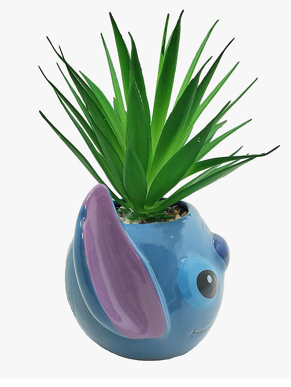 Vasos de Plantas do Stitch, a Experiência Genética nº 626