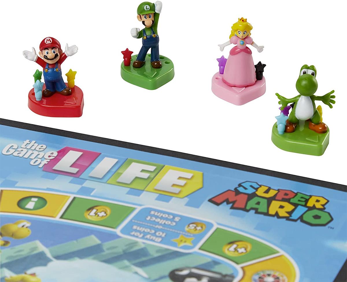 Jogo da Vida Super Mario Edição Especial