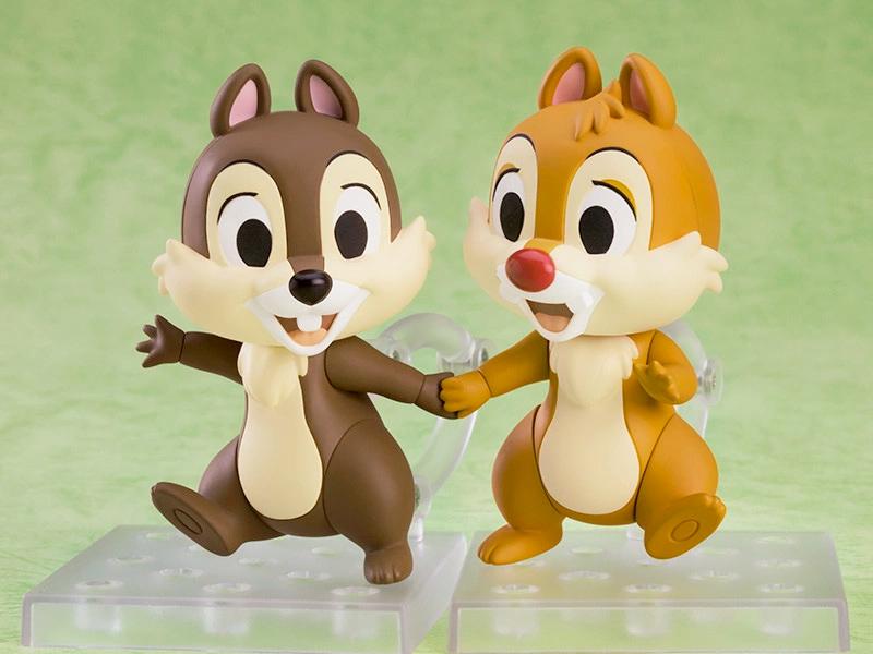 Bonecos Nendoroid Disney Tico e Teco