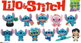 Chaveiros Lilo & Stitch Series 3 Disney 3D Figural Bag Clip (Blind-Bag)