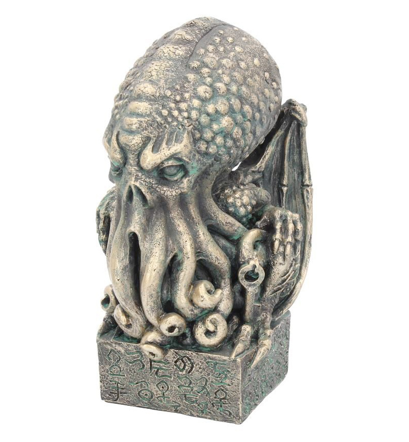 The Call of Cthulhu H.P. Lovecraft Squid Octopus Ornament Cthulhu Figurine