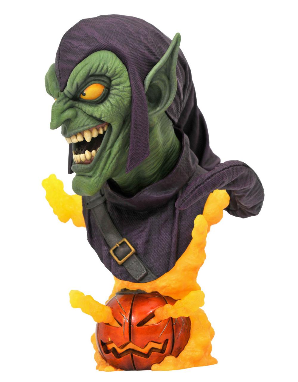 Busto Duende Verde Legends in 3D Marvel em Escala 1:2