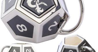 Caneca Dungeons & Dragons Dado D12