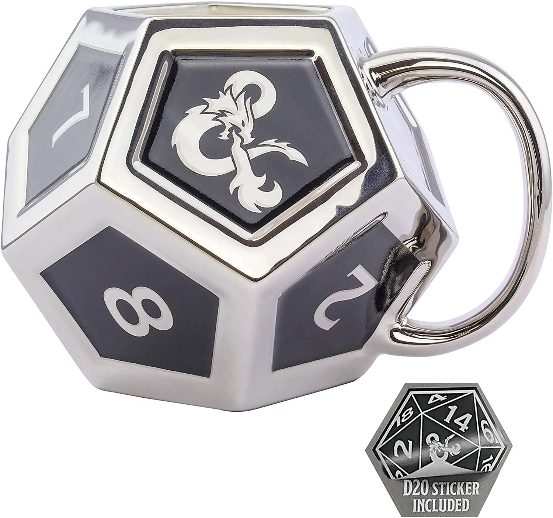 Dungeons & Dragons D12 Mug