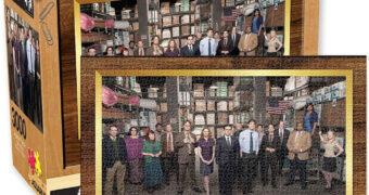 Quebra-Cabeça The Office Cast com 3.000 Peças