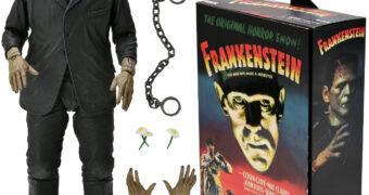 Frankenstein (Boris Karloff) 90 Anos do Filme – Action Figure em Cores Neca Ultimate 7″