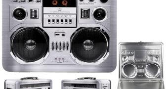 Lancheira Boombox Retrô Anos 80