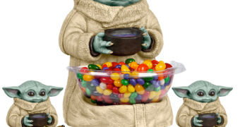 Porta-Balas Baby Yoda (Grogu) Star Wars: The Mandalorian