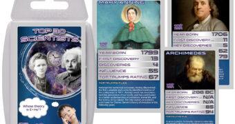 Super Trunfo 30 Cientistas Geniais STEM