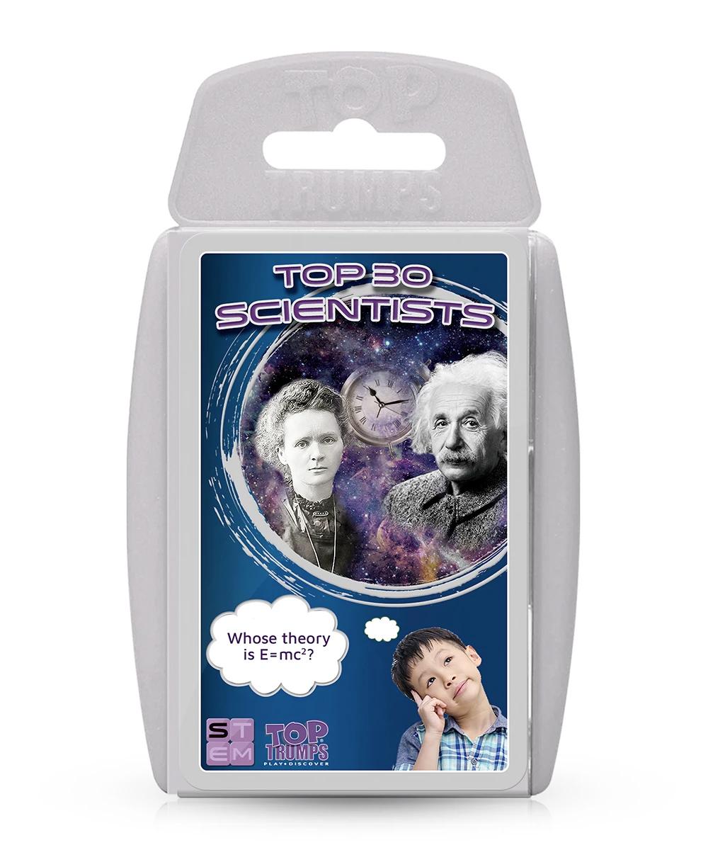 Super Trunfo STEM Top 30 Scientists Top Trumps