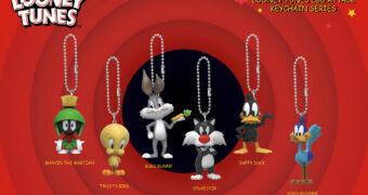 Chaveiros Looney Tunes Egg Attack Keychains Series (Blind-Box)