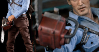 Ash Williams (Bruce Campbell) Evil Dead 2 em Escala 1:6 – Action Figure Perfeita Asmus Toys