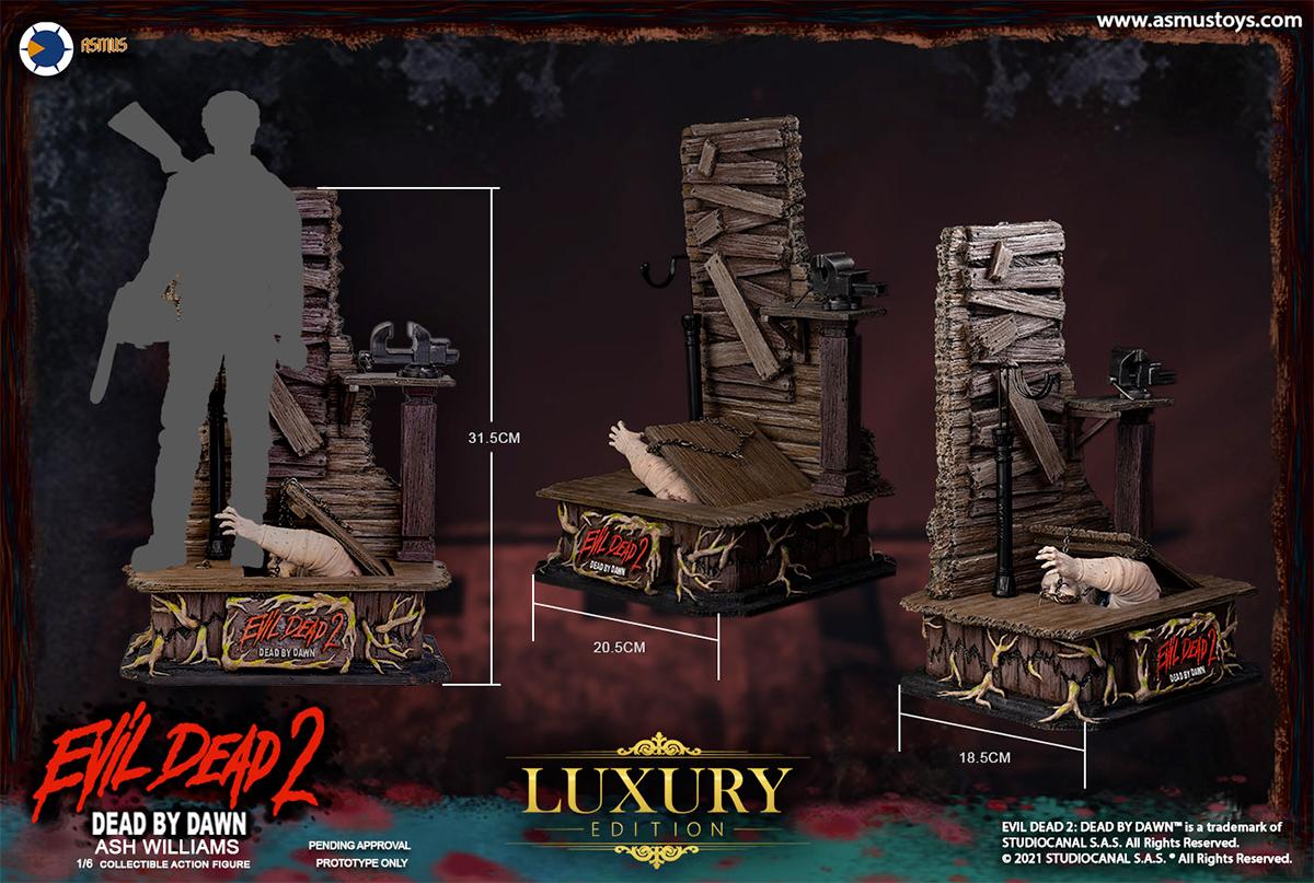 Action Figure Evil Dead 2 Series-Ash Williams Asmus Toys