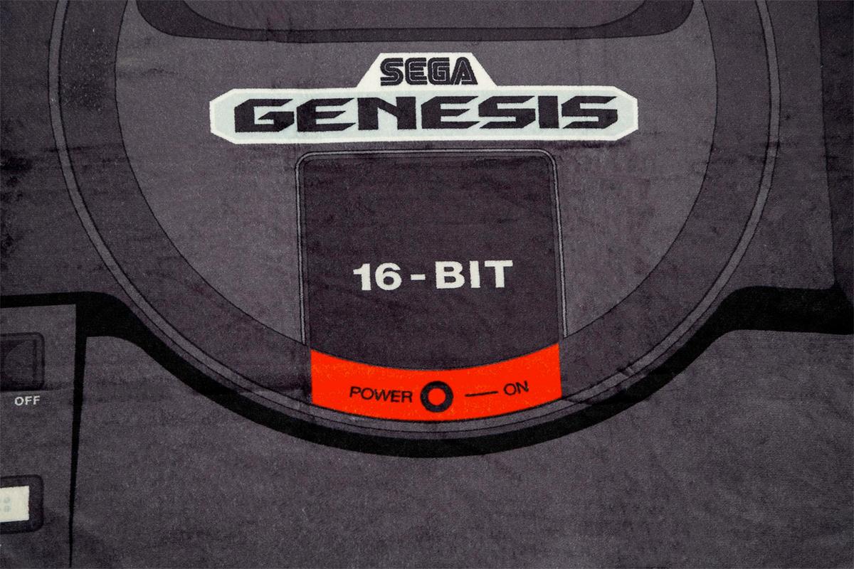 Cobertor de Lance Mega Drive (Sega Genesis) 16 bits