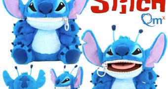 Stitch Zippermouth Boneco de Pelúcia QMx com Zíper na Boca