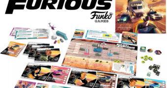 "Jogo de Tabuleiro Velozes & Furiosos ""Fast & Furious Highway Heist"" (Funko Games)"