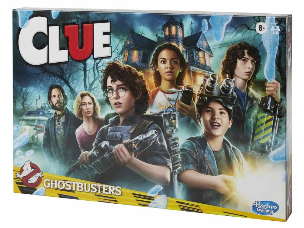 Jogo Tabuleiro Detetive Clue Ghostbusters Afterlife Edition