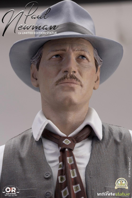 Paul Newman, o Ícone do Cinema - Estátua Perfeita 1:6 da Infinite Statue