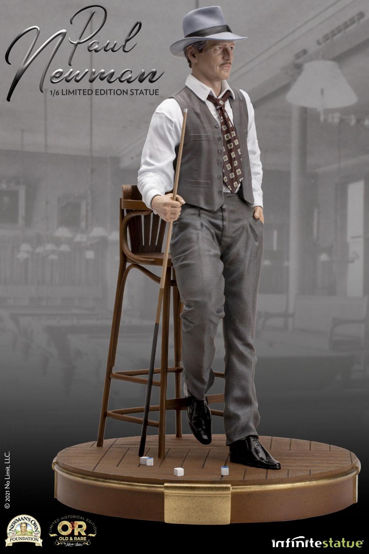Paul Newman Old & Rare 1/6 Scale Statue