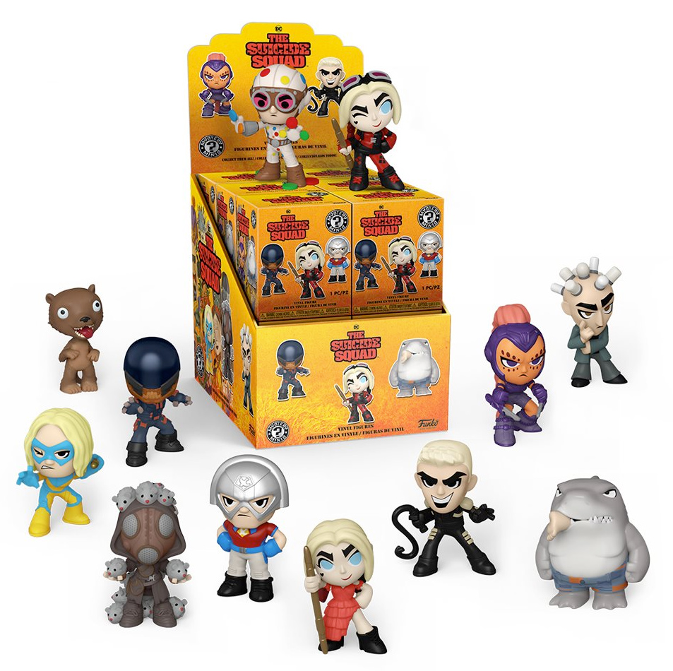 The Suicide Squad Mystery Minis Mini-Figures