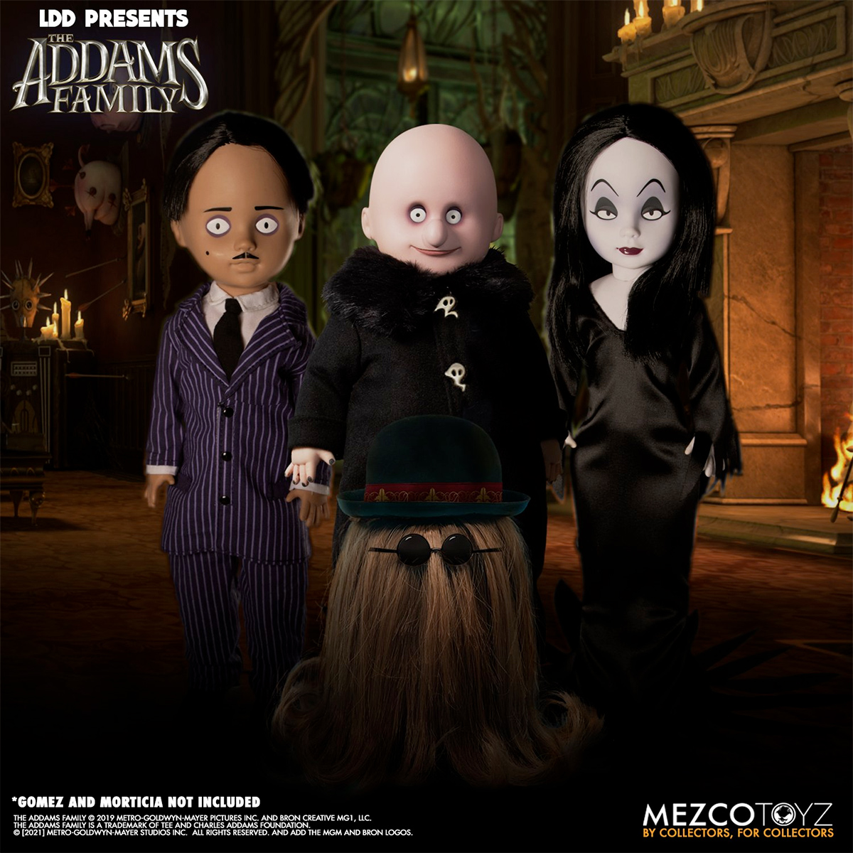 Living Dead Dolls Presents: The Addams Family: Fester & It