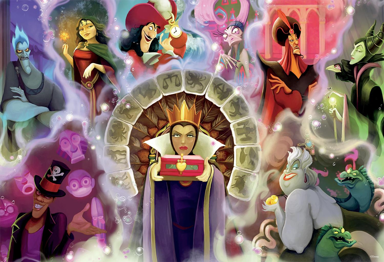 Quebra-Cabeça Vilãs e Vilões da Disney com 2.000 Peças (Ceaco)