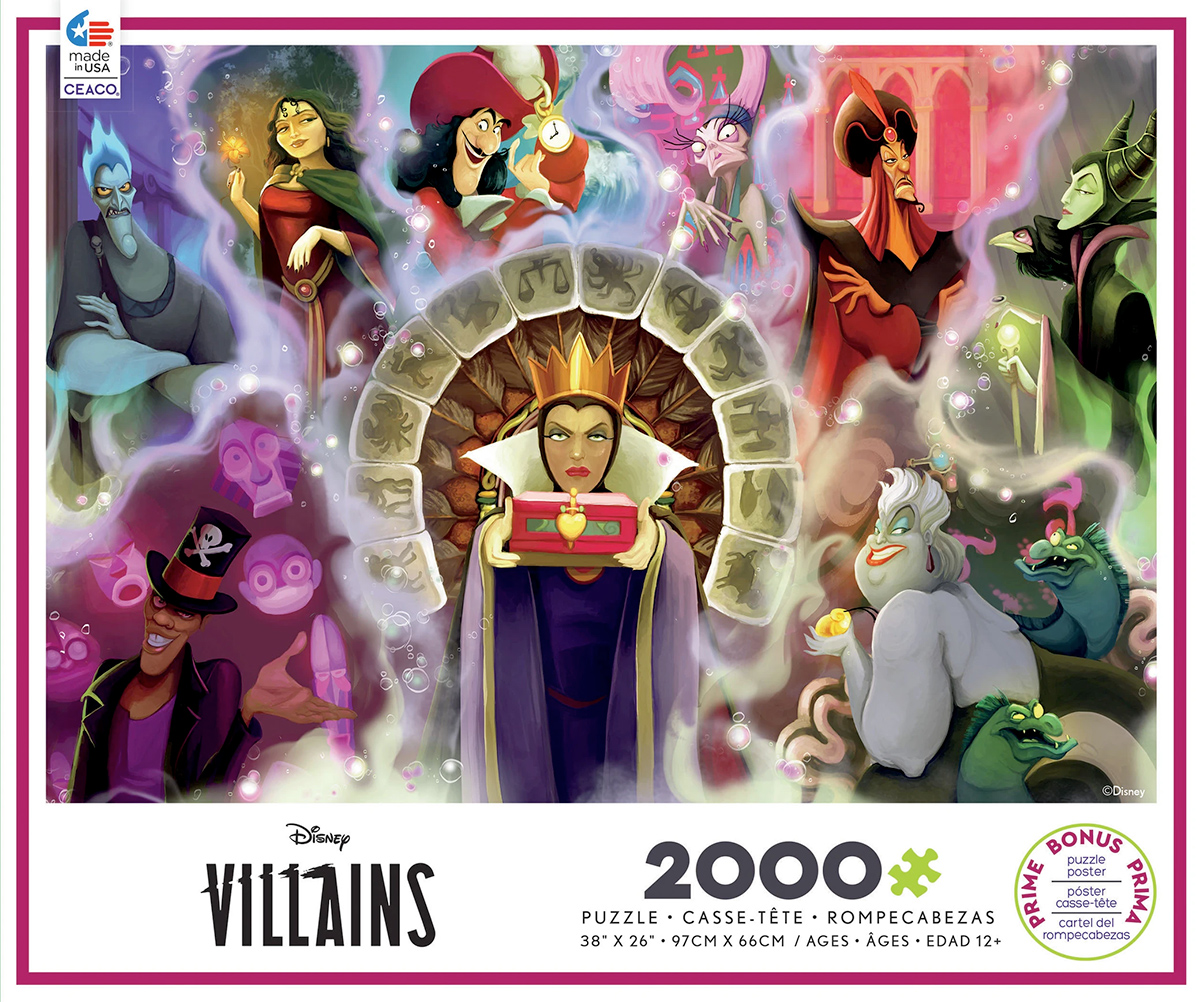 Disney Villains 2 Ceaco 2000pc Jigsaw Puzzle