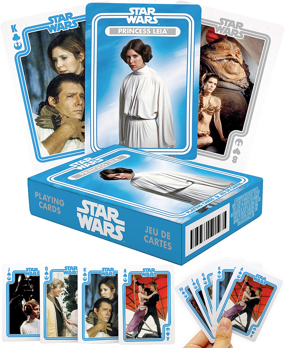 Baralho Princesa Leia com Fotos da Trilogia Star Wars Original