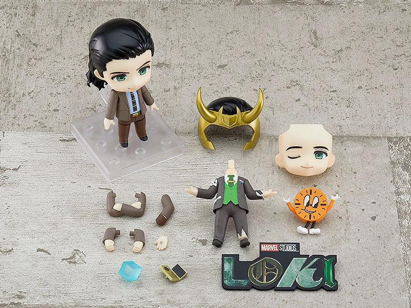 Nendoroid Loki Versões TVA e Presidente (Disney+)