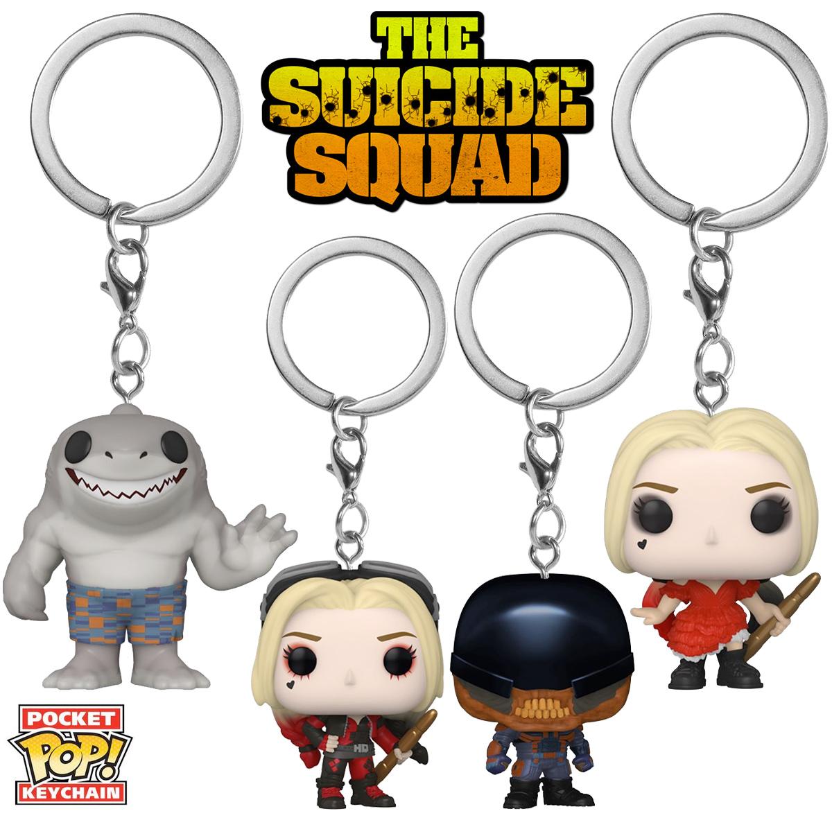 Chaveiros O Esquadrao Suicida The Suicide Squad Pocket Pop