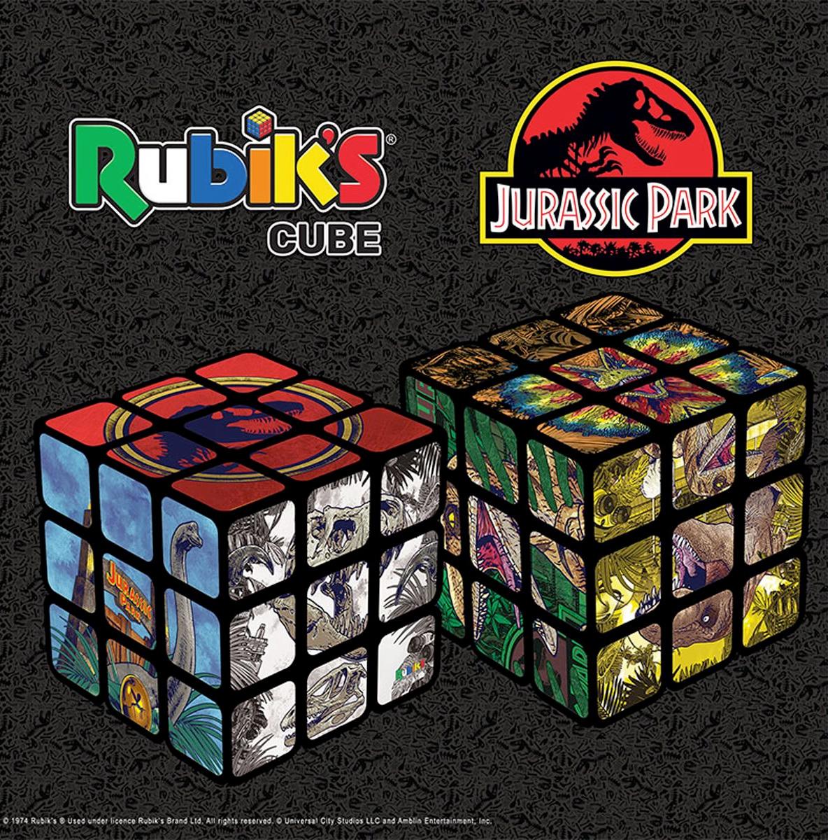 Cubo de Rubik Jurassic Park, o Parque dos Dinossauros