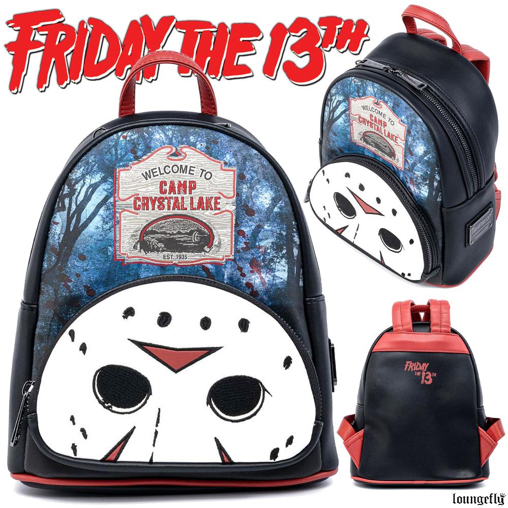 Mini Mochila Sexta-Feira 13 Friday the 13th Camp Crystal Lake Mini Backpack