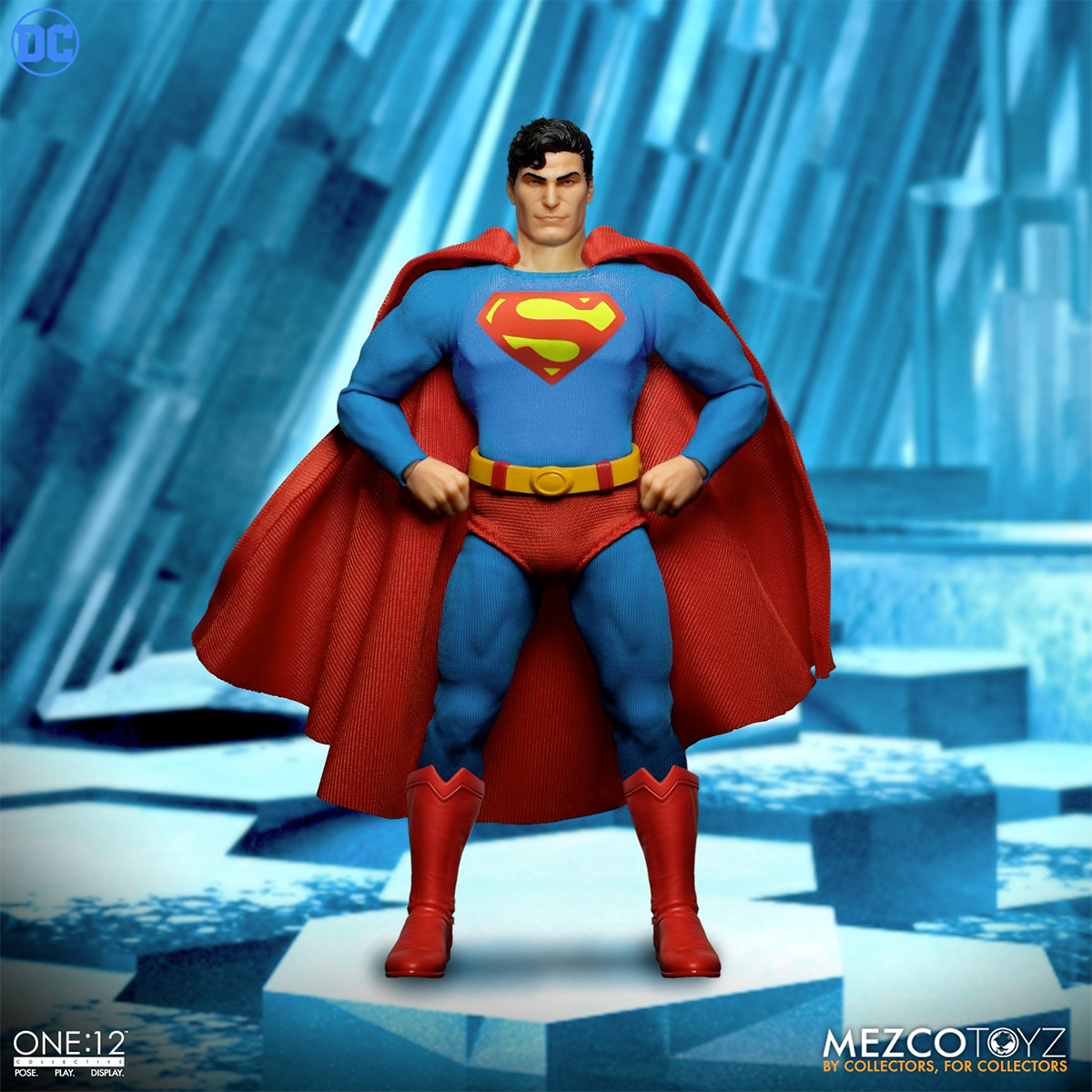 Action Figure Superman - Man of Steel One:12 Collective da Mezco Toyz