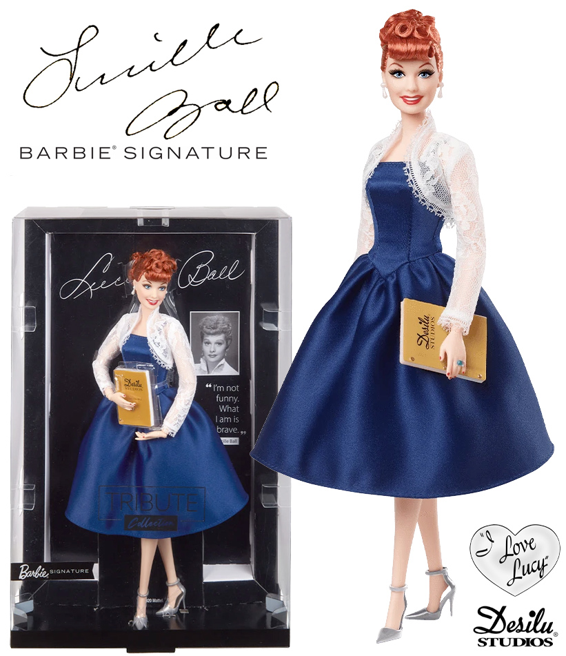 Boneca Lucille Ball Barbie Tribute Collection
