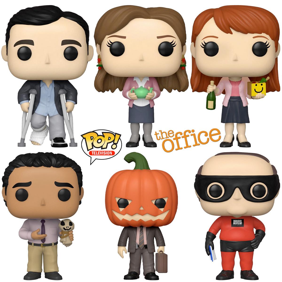 Bonecos The Office Pop Vinyl Figures
