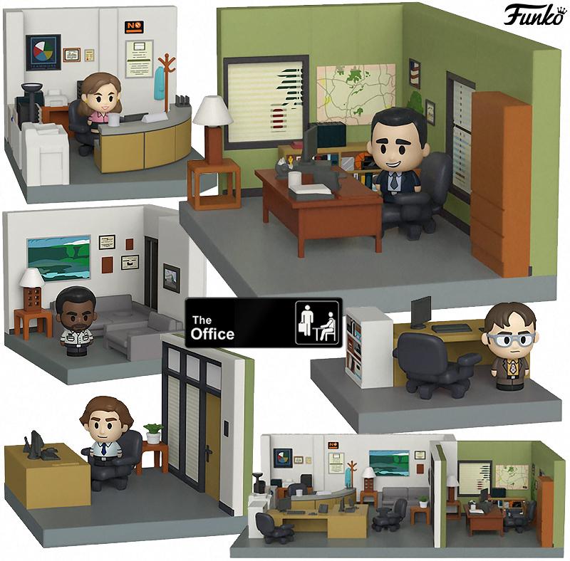 Escritório da Dunder Mifflin Funko Mini-Moments Playset Diorama (The Office)
