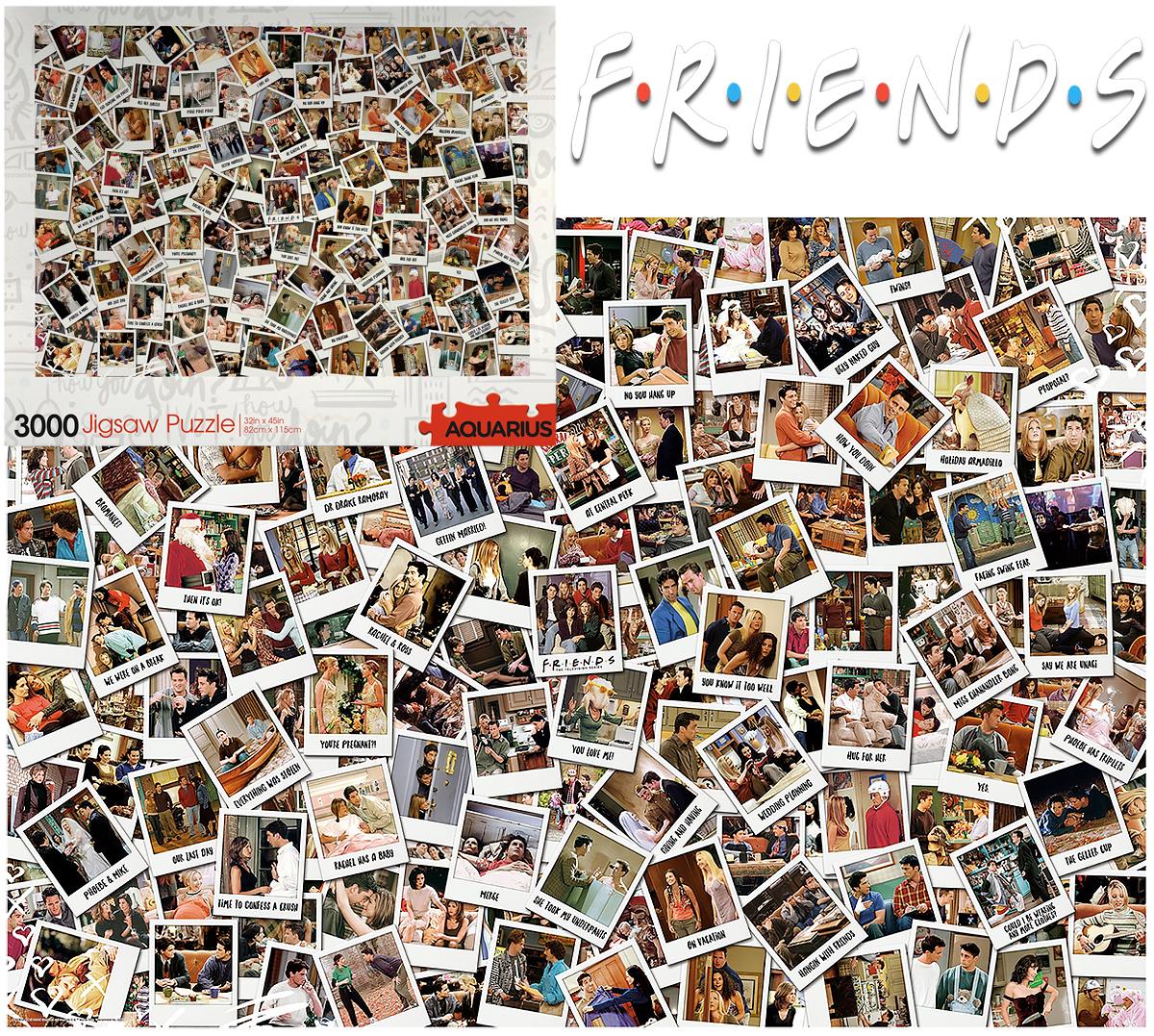 Quebra-Cabeça Friends Polaroids com 3.000 Peças