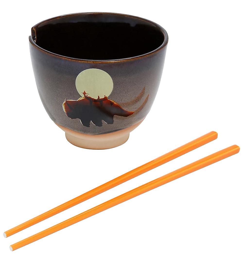 Tigela A Lenda de Aang Avatar The Last Airbender Moonlight Ramen Bowl