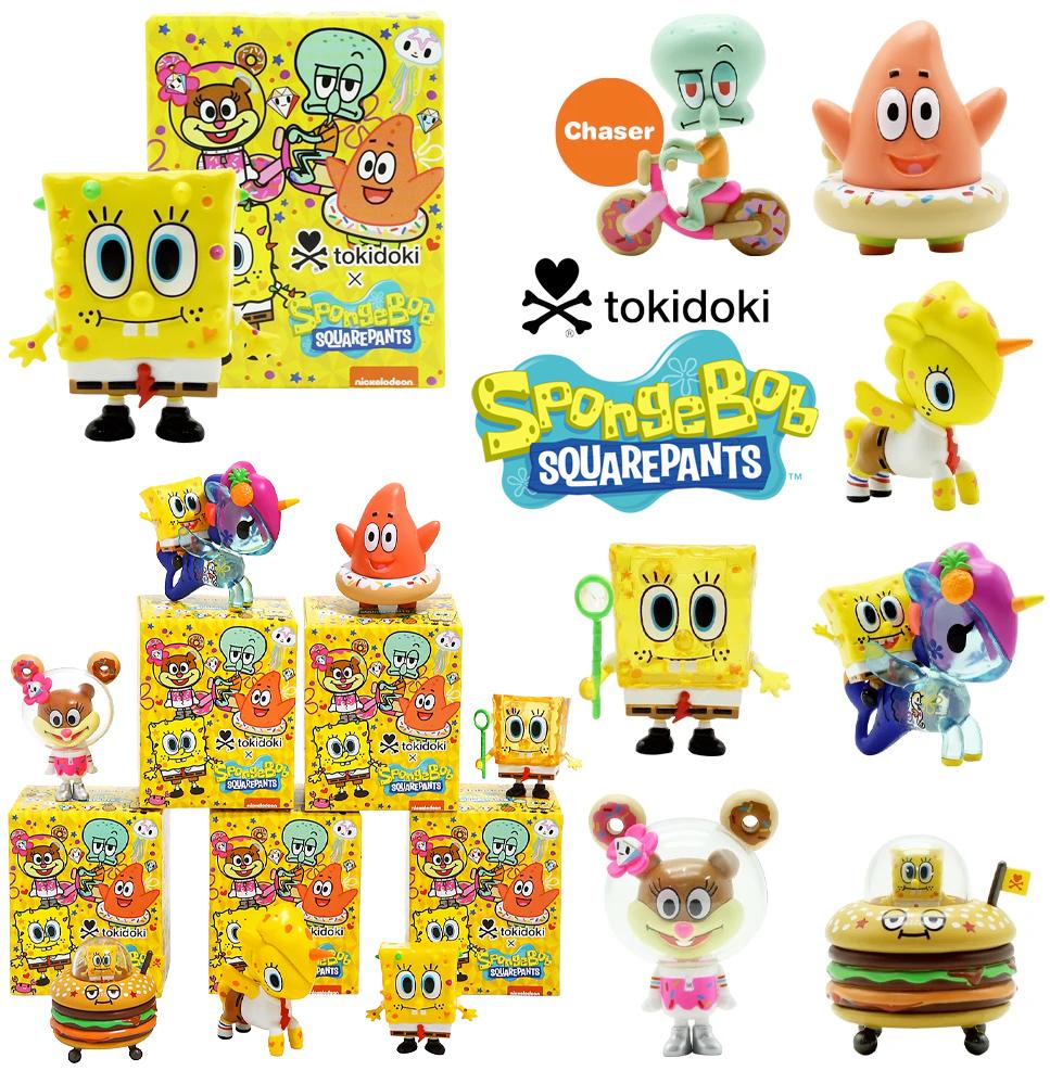 Mini Figuras Bob Esponja tokidoki x SpongeBob SquarePants Blind Box Figures