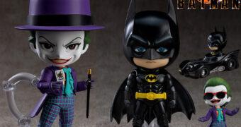 Bonecos Nendoroid Batman 1989 de Tim Burton: Batman e Coringa