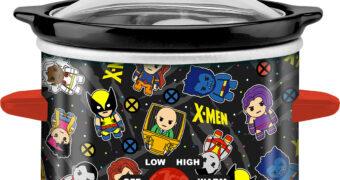 Panela Elétrica X-Men Mutantes no Estilo Chibi (Marvel)