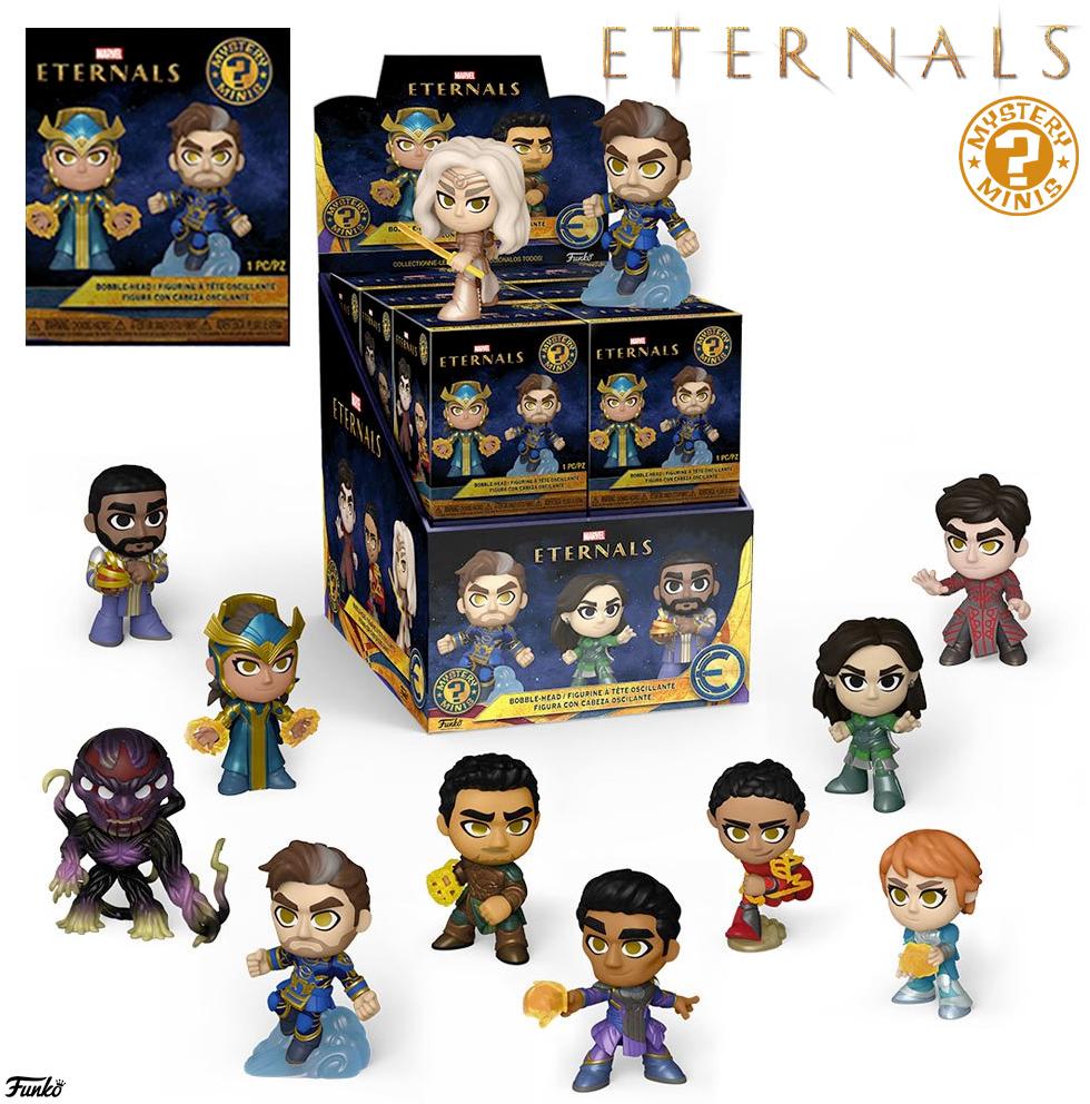 Eternos (Eternals) Mystery Minis – Mini-Figuras Funko Marvel Blind-Box