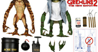 """Equipe de Demolição Gremlins – Action Figures Neca 7"""" Gremlins 2 A Nova Turma"""