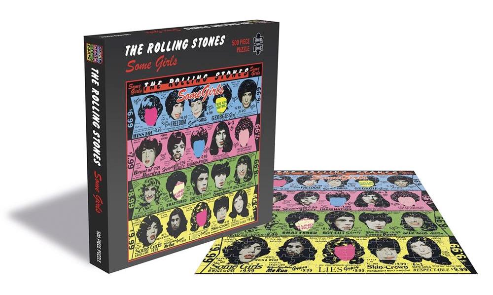 9 Quebra-Cabeças The Rolling Stones Album Covers com 500 Peças Cada
