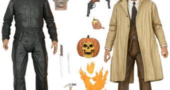 Michael Myers e Dr. Loomis 40 Anos de Halloween 2 – Action Figures 7″ Neca Ultimate