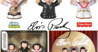 Bonecos Elvis Presley Little People Collector (Fisher-Price)