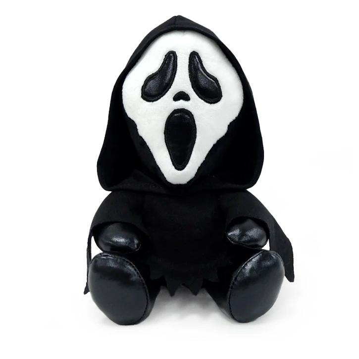 Bonecos de Pelúcia Kidrobot Ghost Face HugMe e Phunny do Filme Pânico (Scream)
